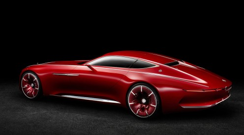 Vision Mercedes-Maybach 6: Studie eines extravaganten Coupés der Luxusklasse; 2016 Vision Mercedes-Maybach 6: Study of an ultra-stylish luxury-class coupé; 2016